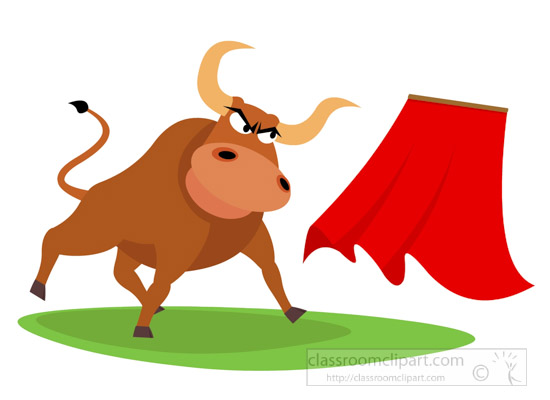 Matador clipart spanish bull Bullfight Art bull Europe clipart