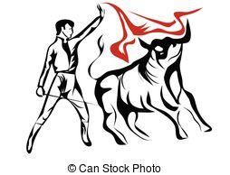 Matador clipart spanish bull Clipart bullfighter bullfighter Vector spanish