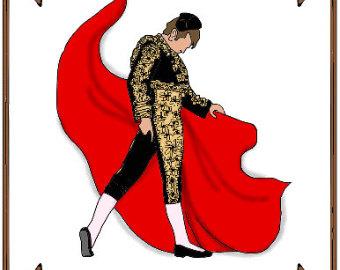 Matador clipart spanish bull Costume Pattern 38TO Osborne Etsy