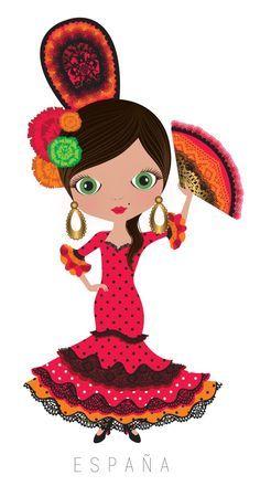 Spanish clipart mexican lady Clipart  clipart spanish MUNDO