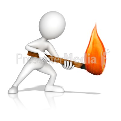 Matches clipart arson #3