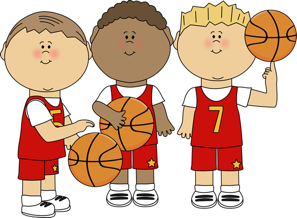 Child clipart basketball Basketball Clipart Month Game cliparts