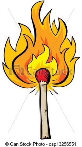 Matches clipart lit matches #11