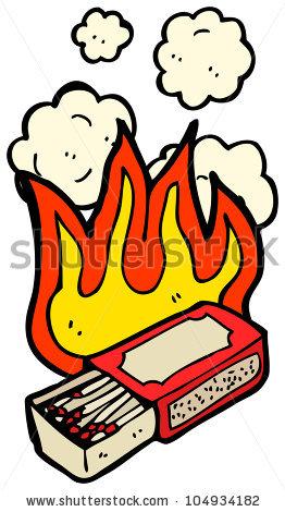 Match clipart cartoon Matches cartoon Panda burning Images
