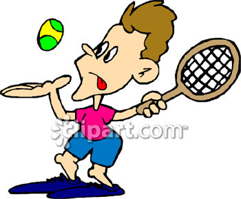 Moving clipart tennis #5