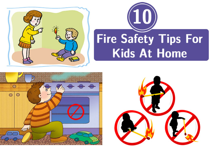 Match clipart safety rule Home For Safety Fire Tips
