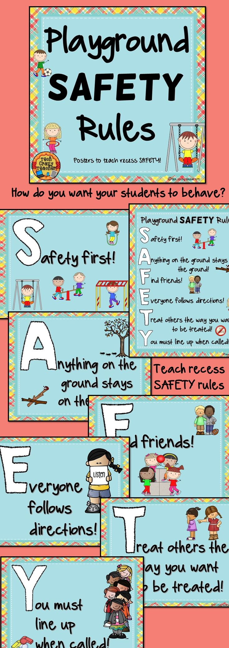 Match clipart safety rule 25+ SAFETY rules Safety Recess