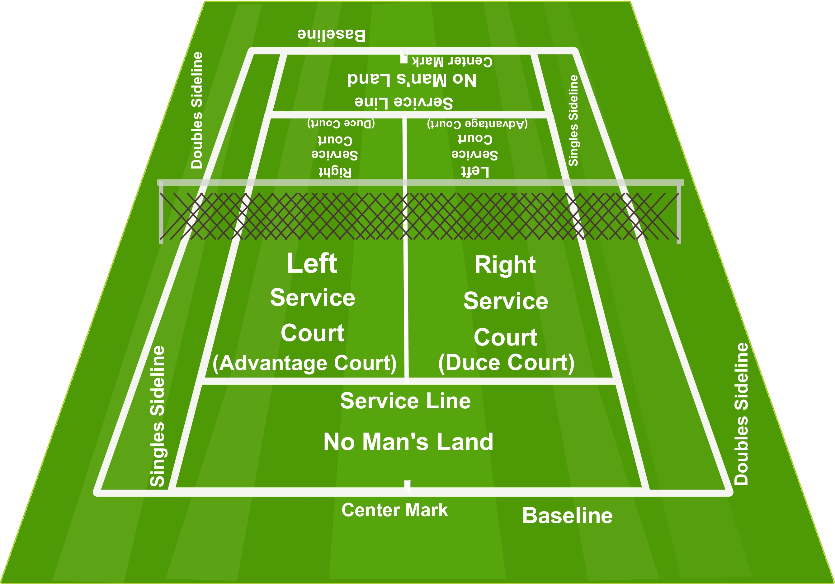 Match clipart tennis court Kids SMART to court Way