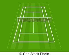 Match clipart tennis court And Art 926 Tennis Tennis