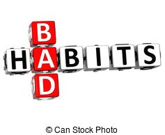 Match clipart unhealthy habit Bad 3 3D Stock on