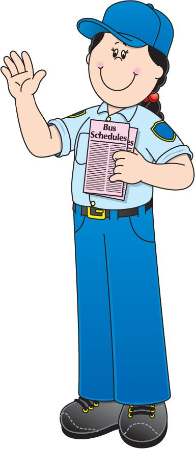 Police clipart community helper #2
