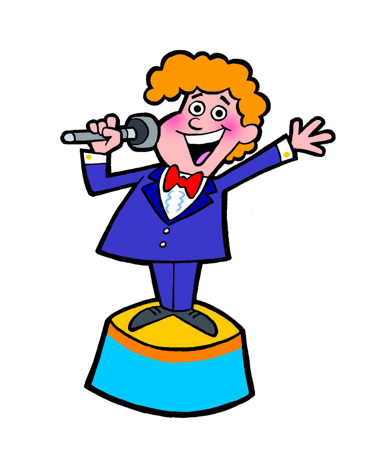 Singer clipart kid public speaking Master Panda Clip Free Clipart
