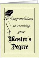 Maters clipart graduate school Cards Congratulations from Card School