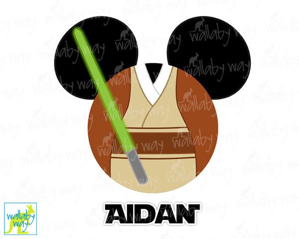 Star Wars clipart mickey head On Mickey or Star Art