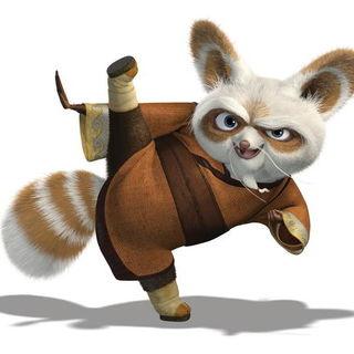 Maters clipart kung fu panda Kung powered Shifu Panda by