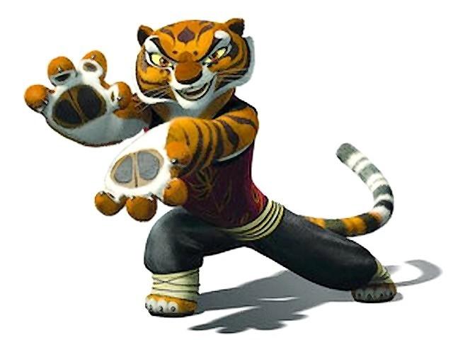 Maters clipart kung fu panda Kung tigress tigress kung Google
