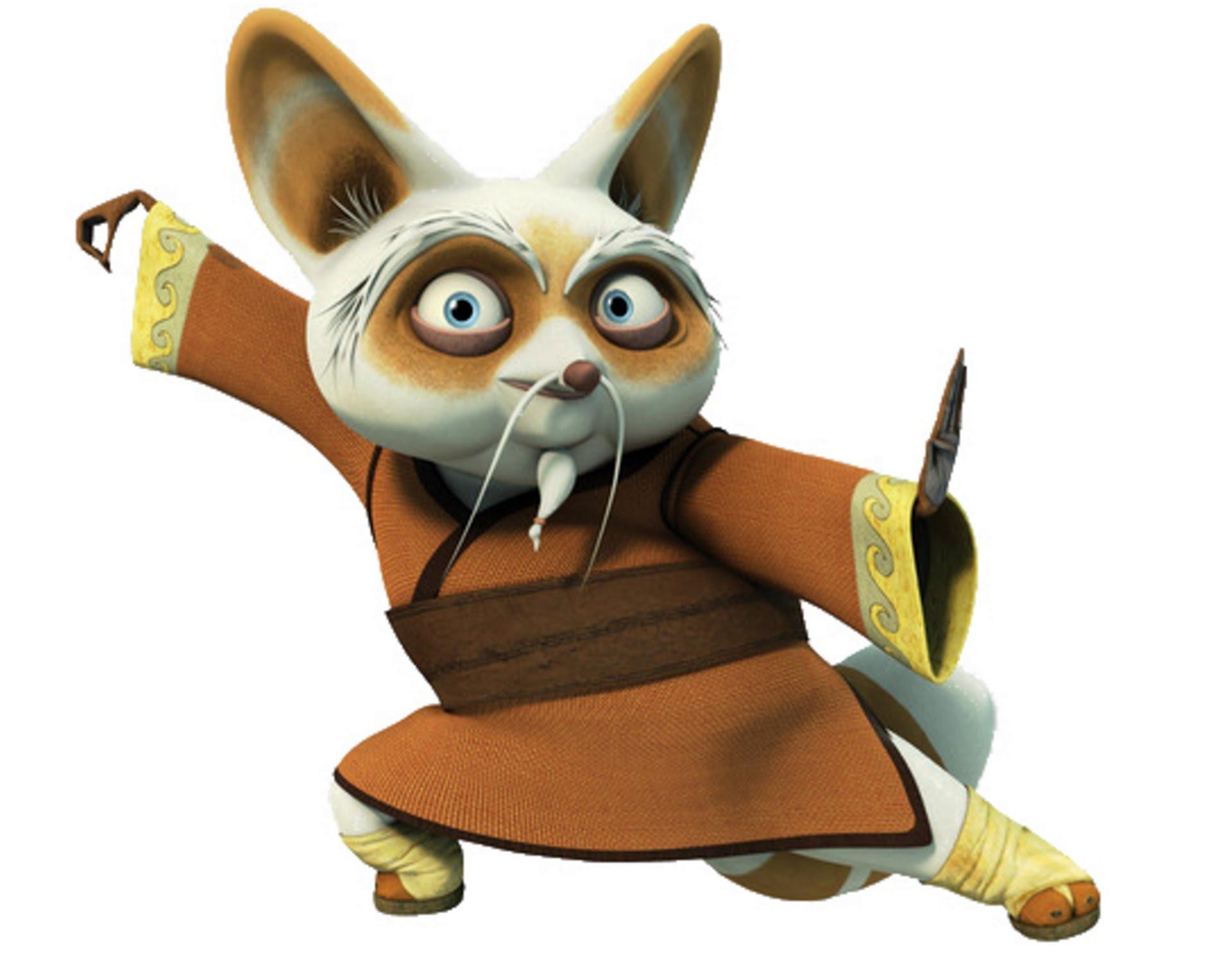 Maters clipart kung fu panda  Sifu Coloring Panda YouTube