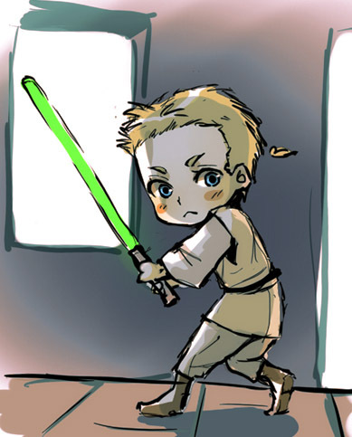 Maters clipart obi wan kenobi STAR Wan and chibi XD