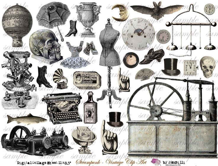Steampunk clipart north arrow Best steampunk about on pagan