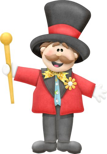 Carnival clipart circus ringmaster Coming The best Is Circus