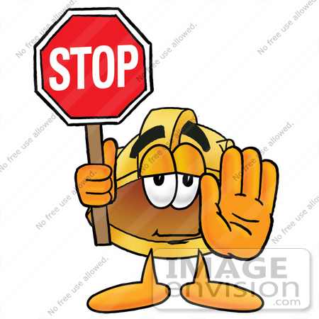 Stop clipart safety sign Panda  Art Safety Clip