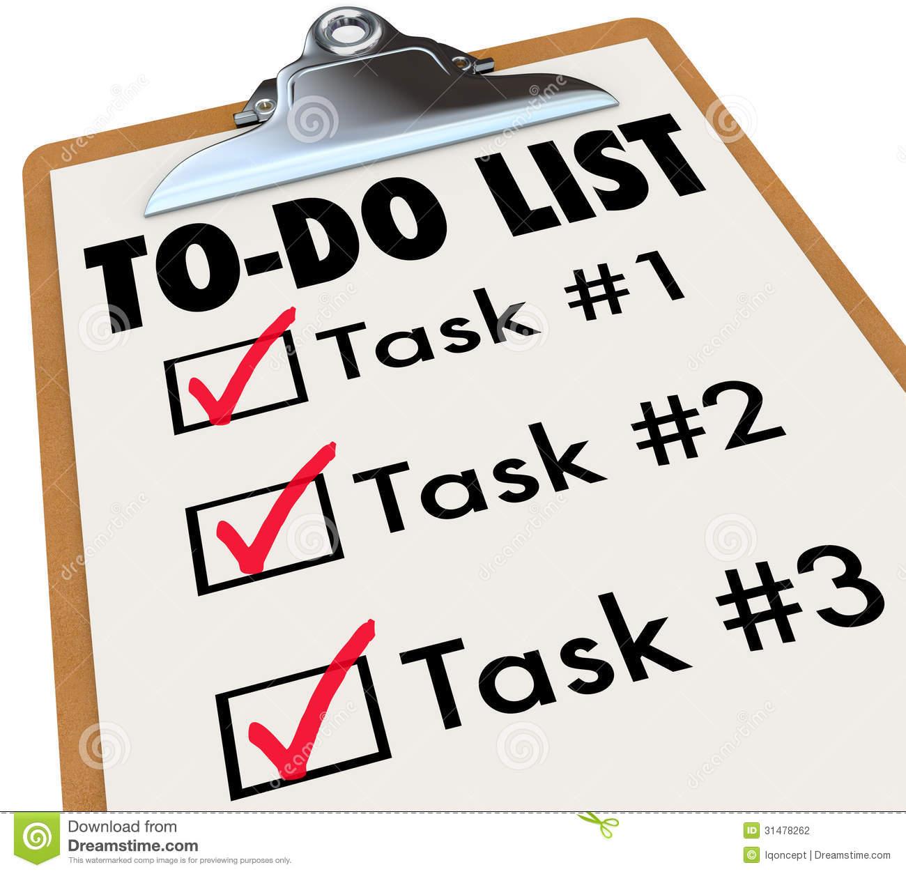 Check clipart task China Do Task Art Se2txd