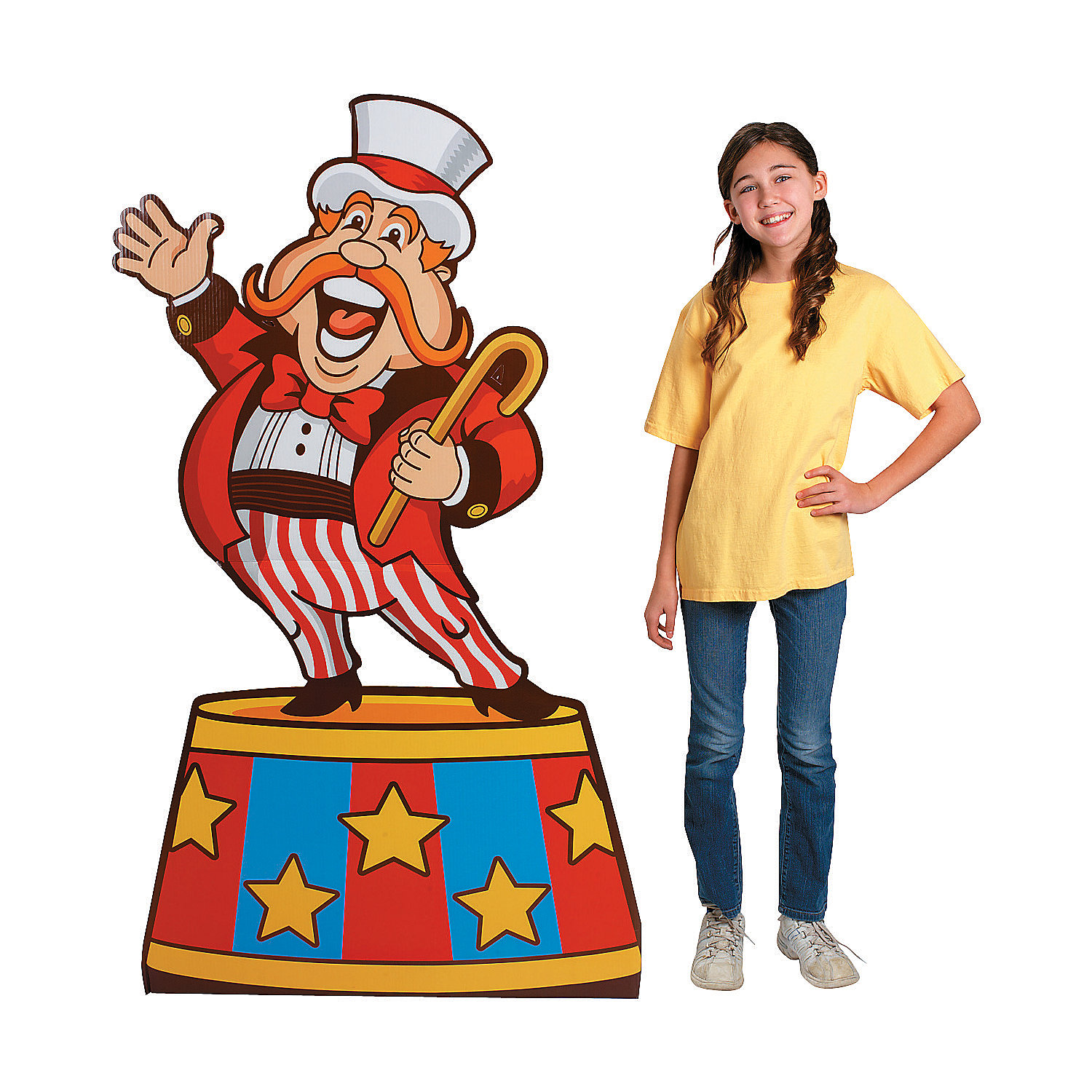 Carnival clipart circus ringmaster RING DECORATION PARTY RING UP