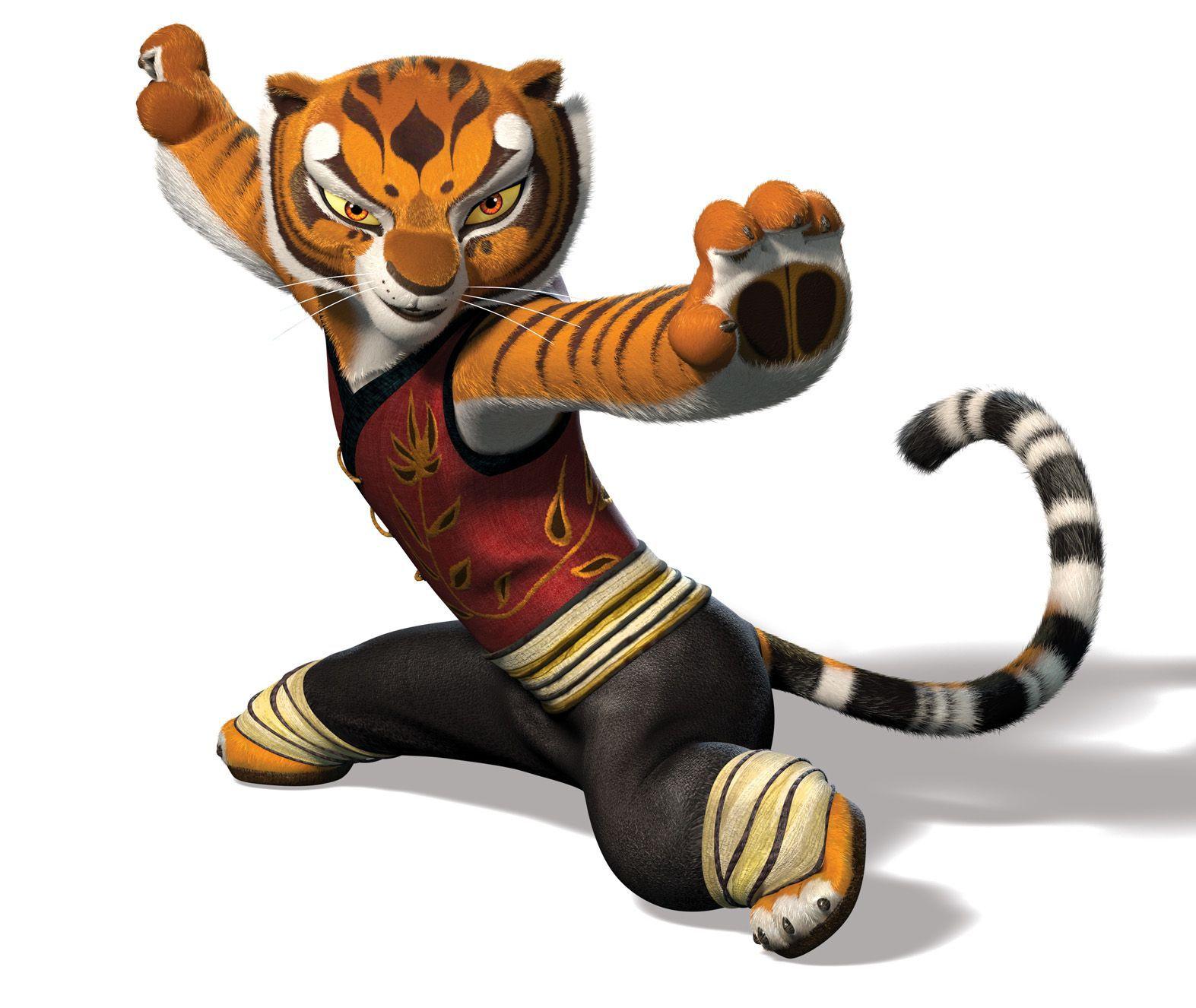 Tigres clipart realistic cartoon #10