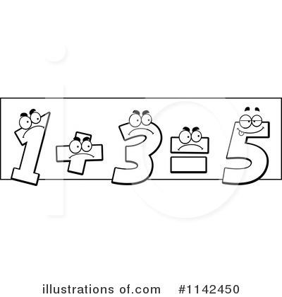 Monochrome clipart math #9