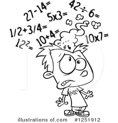 Monochrome clipart math #7