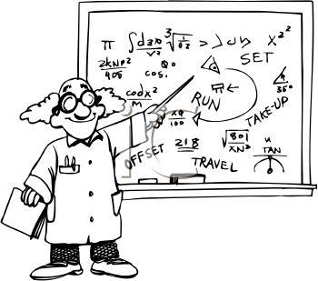 Monochrome clipart math #15