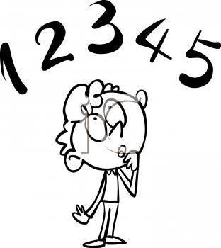 Monochrome clipart math #11