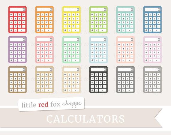Larger clipart calculator Teacher Like Office Clipart Clip