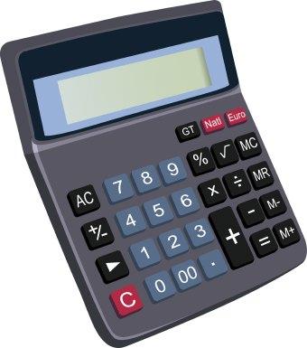 Larger clipart calculator Calculator clip art art Math