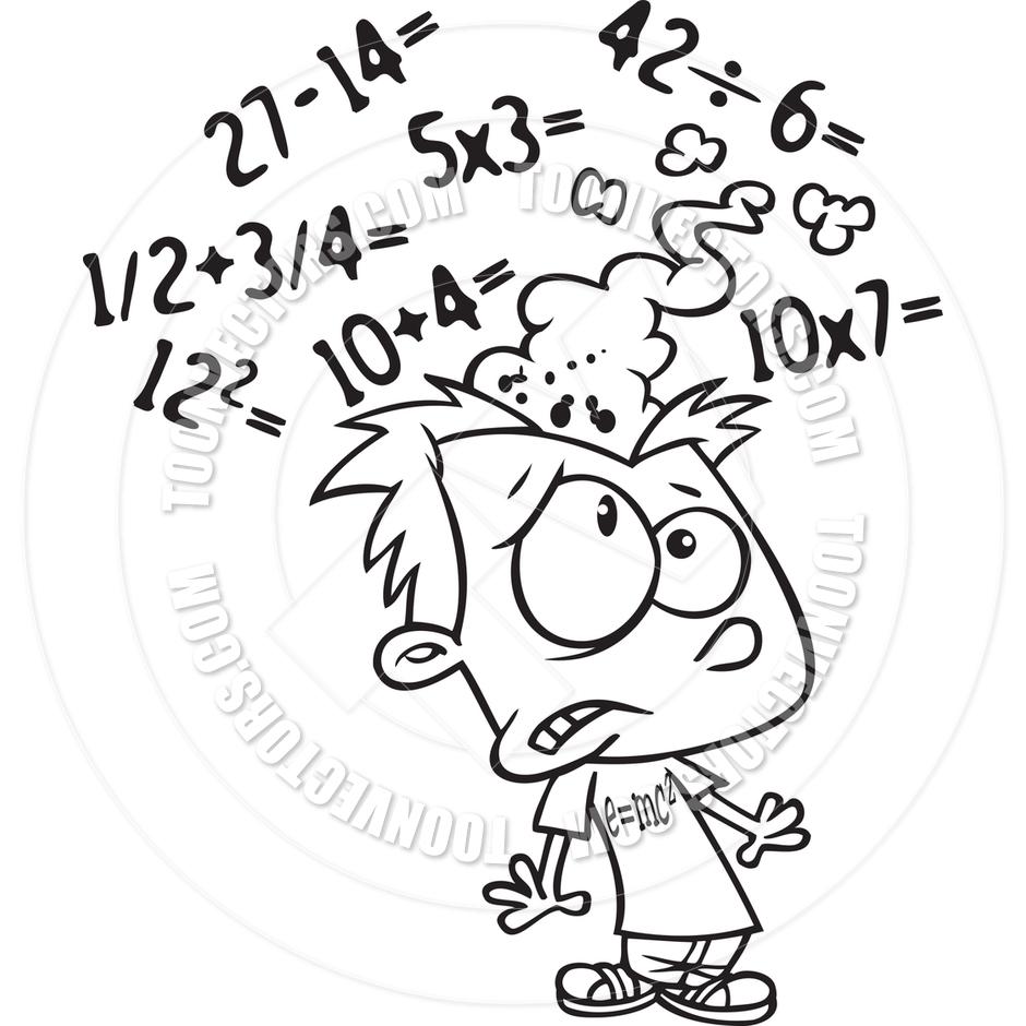 Monochrome clipart math #13