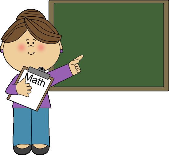 Amd clipart teacher Math collection Math cartoon Art