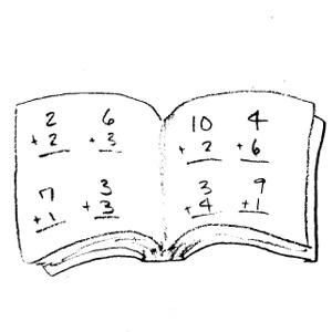 Monochrome clipart math #12