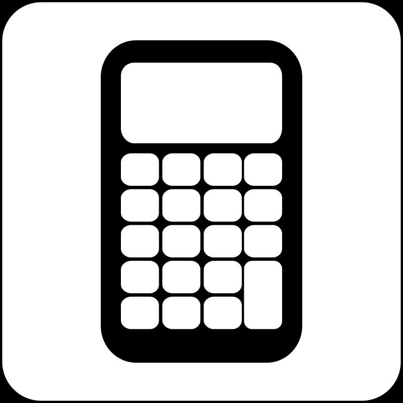 Larger clipart calculator Art Calculator Free Free