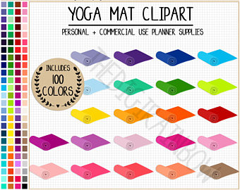Matte clipart outdoor yoga #7