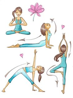 Matte clipart outdoor yoga #9