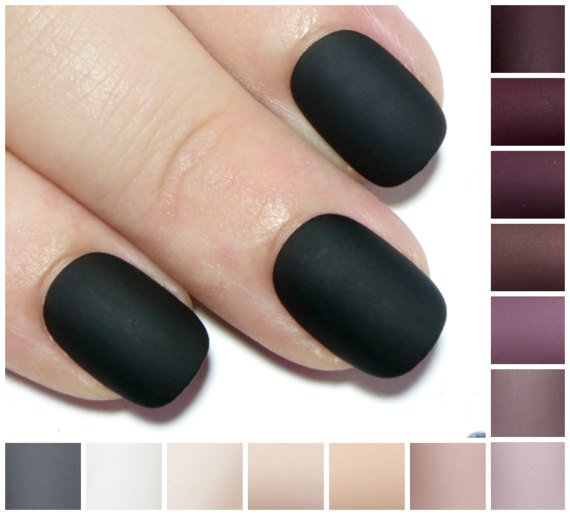 Matte clipart oval On from Acrylic Nails Nails