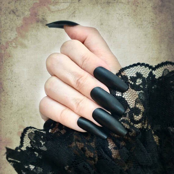Matte clipart oval Shapes Nails Extra Long in
