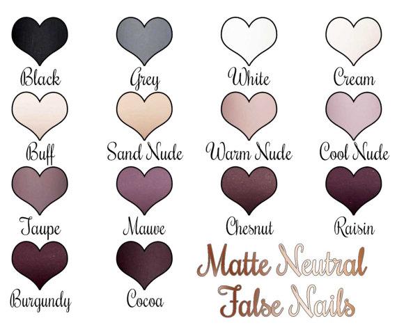 Matte clipart oval Matte Gel False $19 Nails
