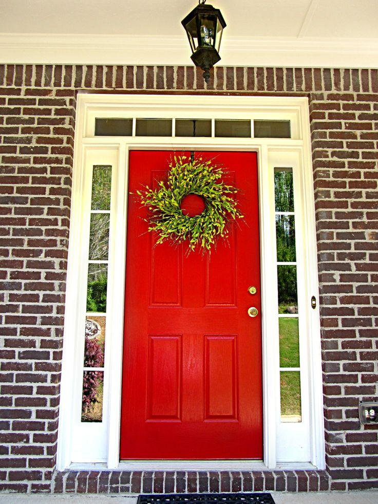 Matte clipart red door Homes on Door brick Pinterest