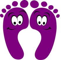 Feet clipart purple Mauve clipart clipart Clipground purple
