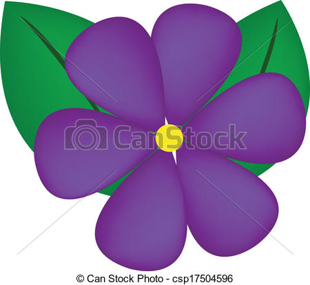 Fans clipart violet Mauve  Illustrations and violet