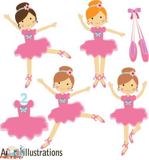Ballet clipart cute ballerina Of on young Ballet were