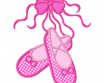 Ballerine clipart baby shoe #1