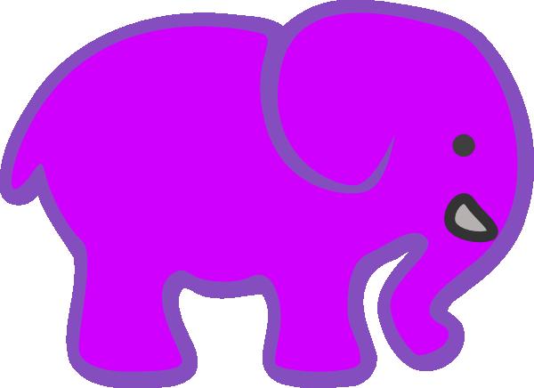 Mauve clipart basketball Invert Pink purple elephant