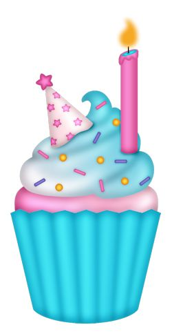 Muffin clipart birthday cupcake Фото на Birthday about 319
